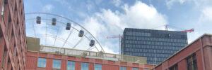 Die Skyline des Werksviertel Mitte